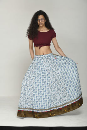Picture of Mfab9 cotton Skirt
