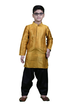 Picture of Mfab9 boys silk kurta pajama set