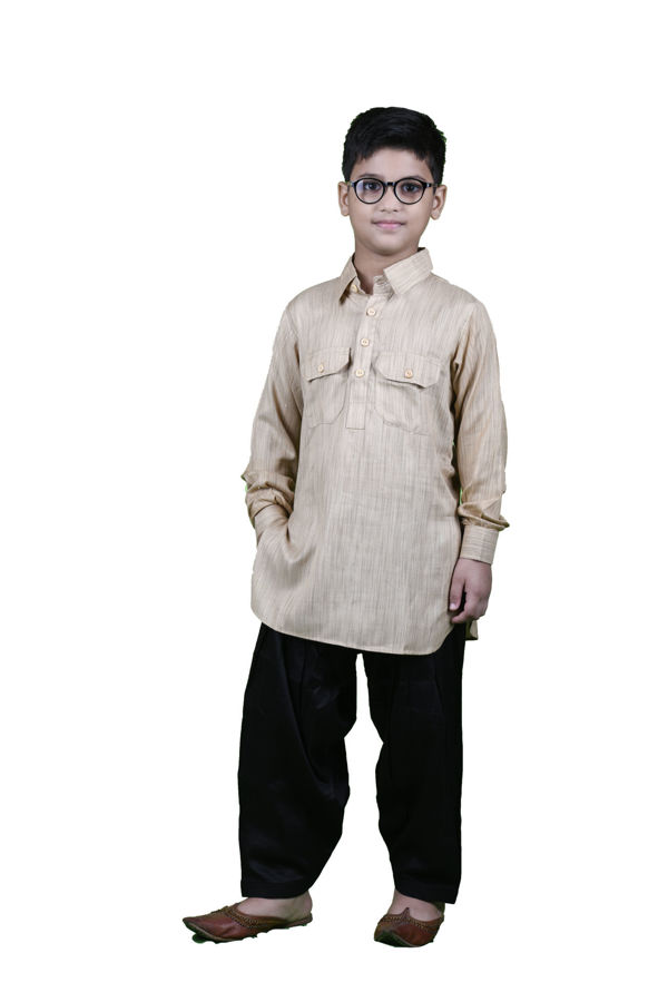 Picture of Mfab9 kids rayon pathani suite