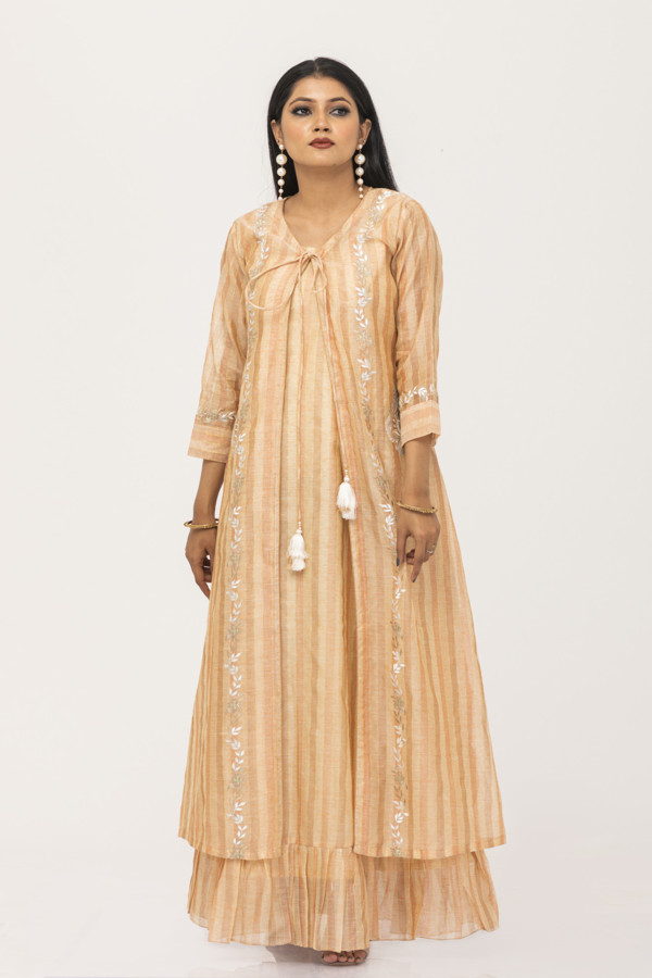 Picture of Mfab9 2 layered gown